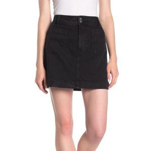 Madewell A-Line Denim Mini Skirt